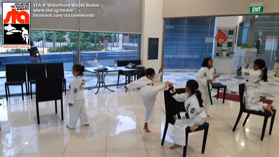 STA Bedok Waterfront Waves Bedok Reservoir Singapore Taekwondo Academy Yishun Northpoint City Aquarius Heartbeat Zinga